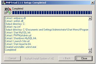 software phptriad